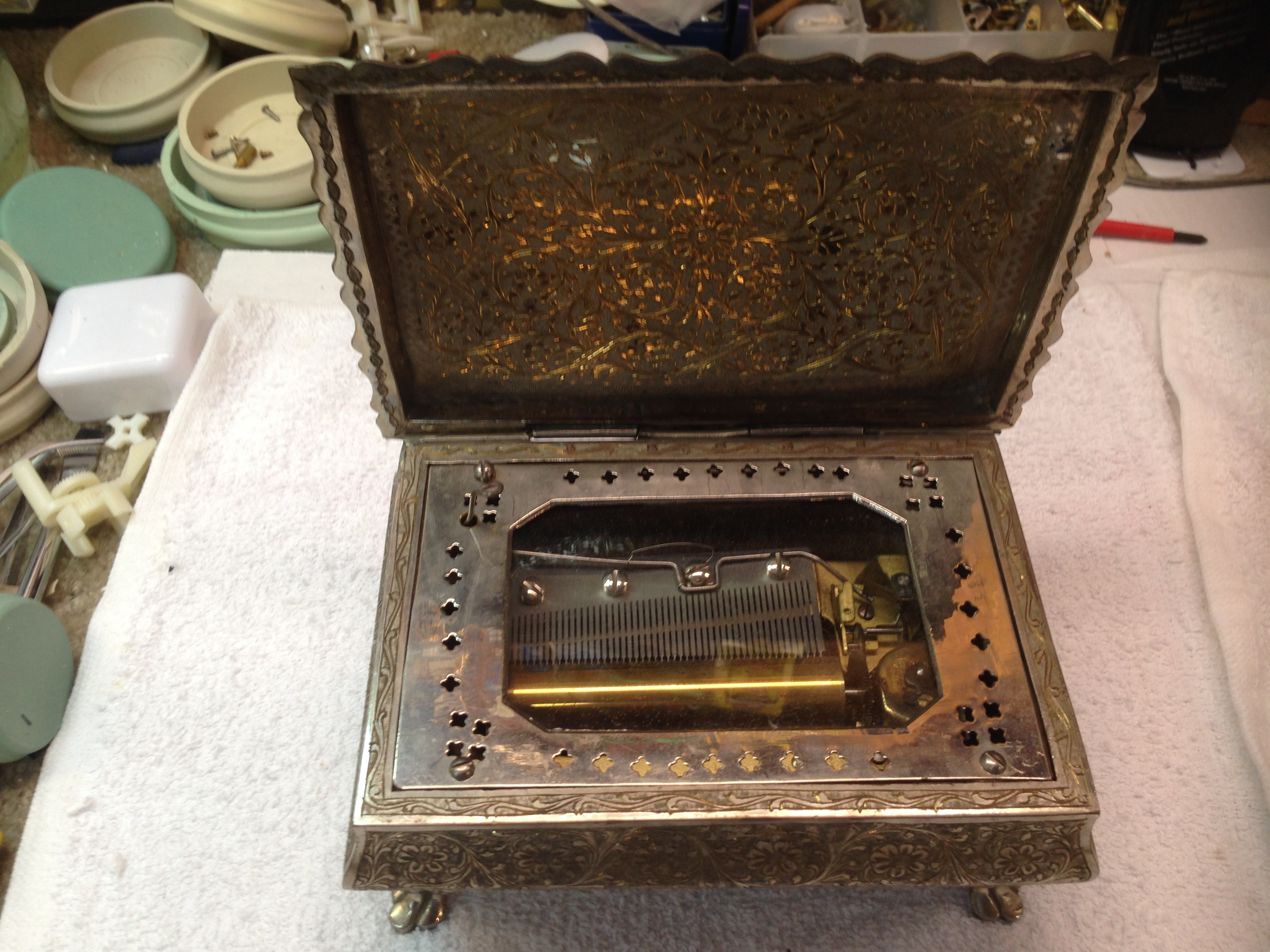 music boxes repair