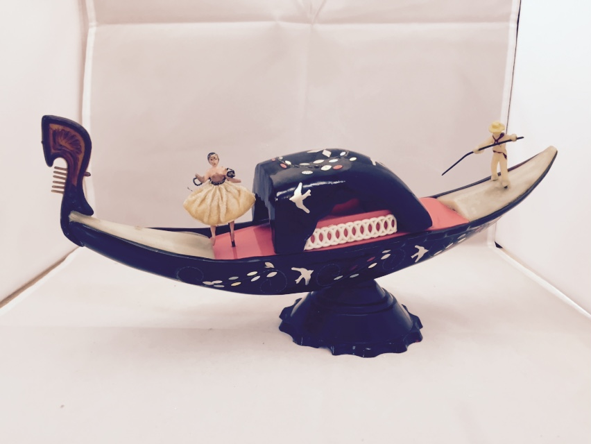 Gondola Music Box with Dancer