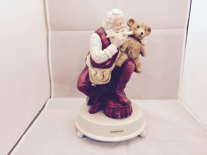 Santa Porcelain Figurine Repair